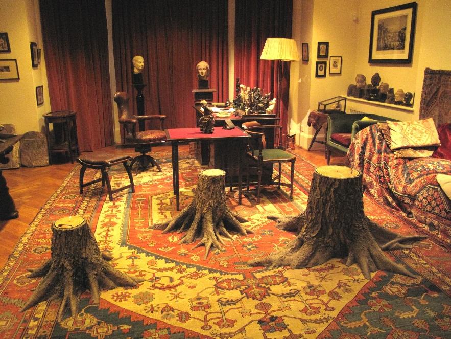 Mat Collishaw Hysteria - Sigmund Freud's Study