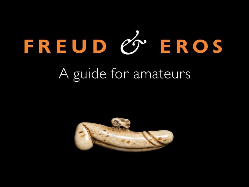 graphic which says Freud and Eros: a guide for amateurs