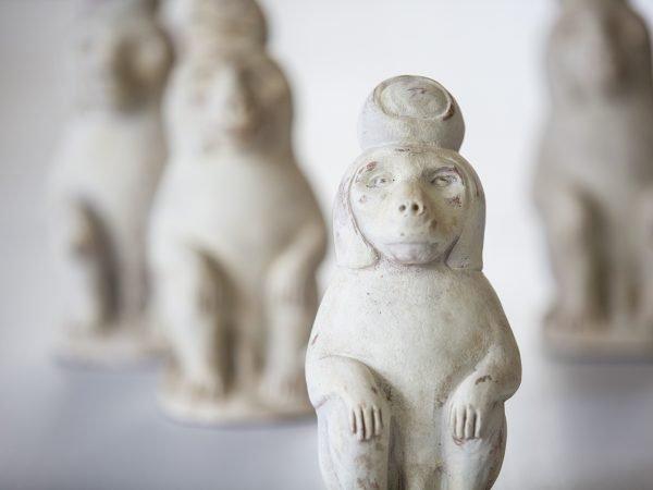 Terracotta Baboons