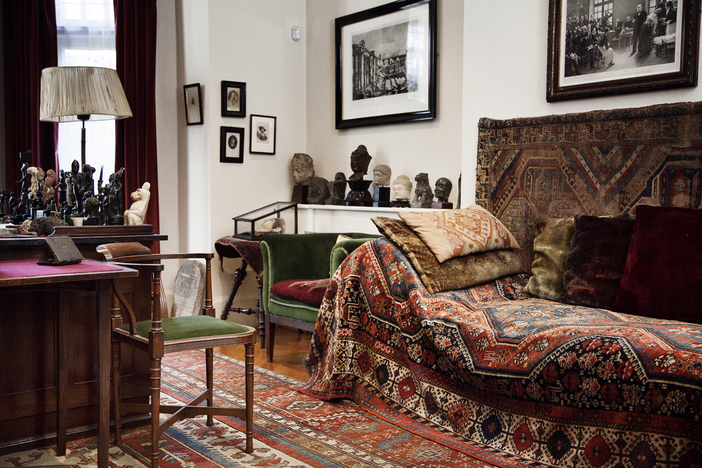 House Couch Amp Study Freud Museum London