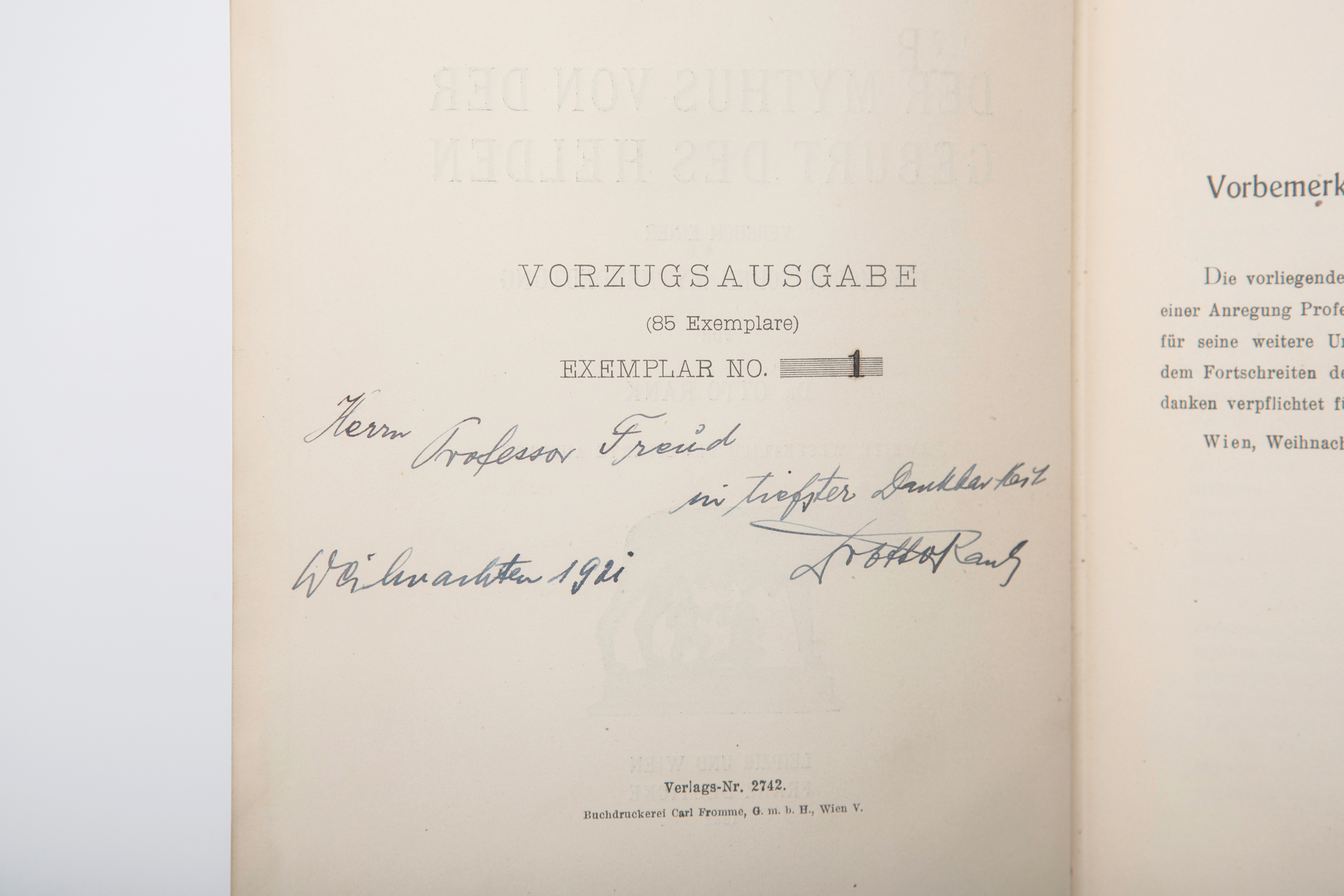 the letters of sigmund freud and otto rank inside psychoanalysis