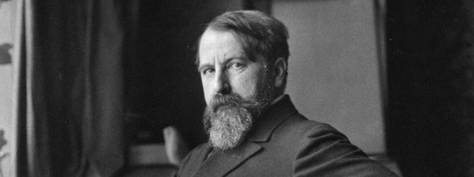 Black and white photograph of Arthur Schnitzler