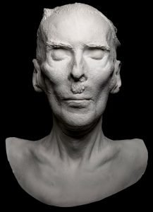 Plastercast death mask of Sergei Pankejeff (the 'Wolf Man')