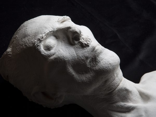 Plastercast death mask of Sergei Pankejeff (the 'Wolf Man')