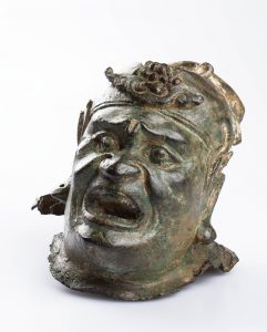 Head of a Guardian Figure, Chinese, Ming Dynasty