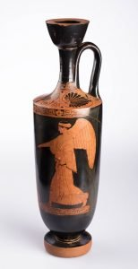 Athenian Red-figured Lekythos, Greek, Classical Period