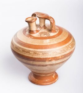 Stirrup Jar, Mycenaean, Late Helladic IIIB