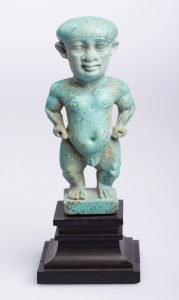 Pataikos Figure, Egyptian, Late Period
