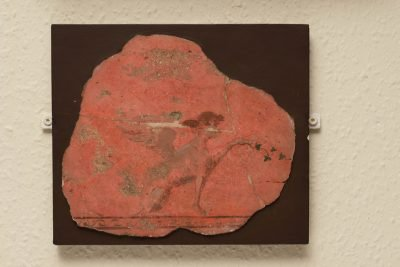 Fragment of a Wall Painting, Roman, 1st century BC - 1st century AD