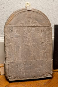 Donation Stele, Egyptian, Ptolemaic Period