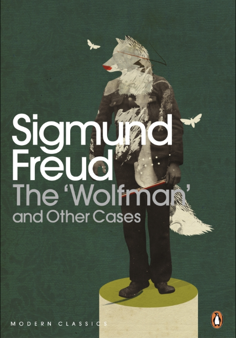 Cover of book which details book title and an illustration of a wolfman