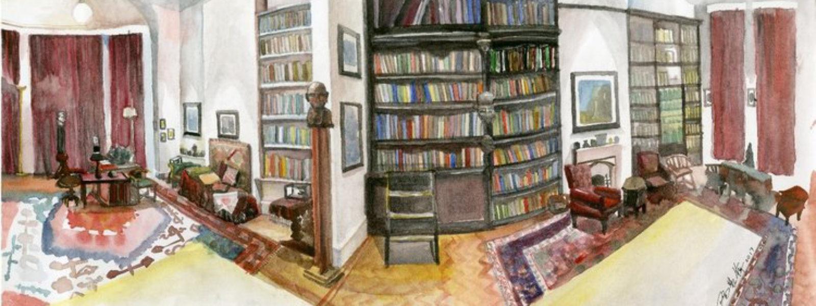 Freud's Study, Huiping Yang, 2017