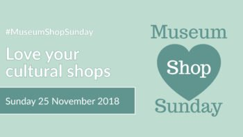 Museum Shop Sunday 2018 Banner