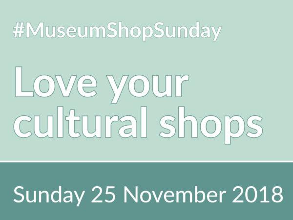 Museum Shop Sunday 2018 Banner