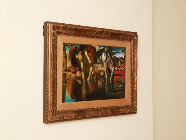 Freud, Dali, Metamorphosis of Narcissus Installation Shot, Freud Museum, 2018