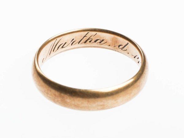 Sigmund Freud's Wedding Ring