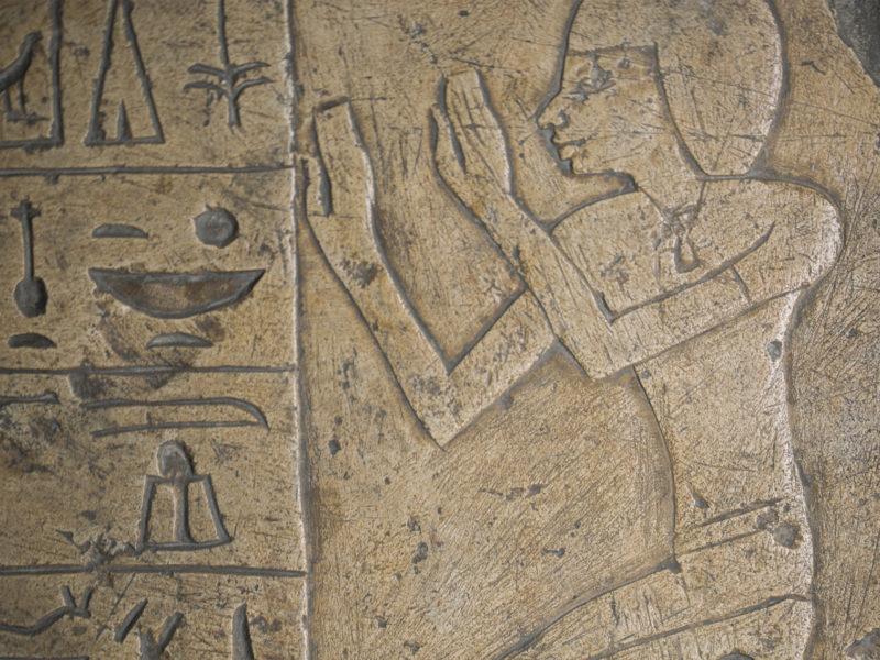 Hieroglyphics in Sigmund Freud's Collection