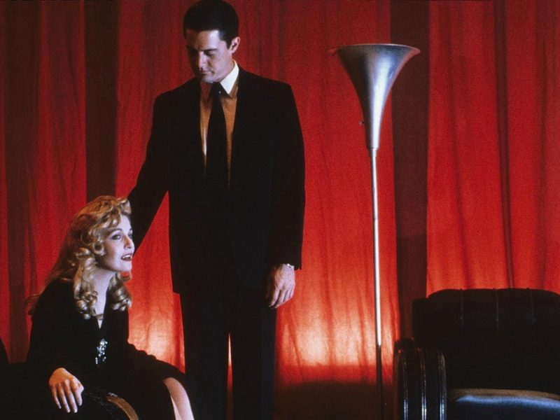 Twin Peaks, Laura Palmer and Agent Dale Cooper in the Red Room