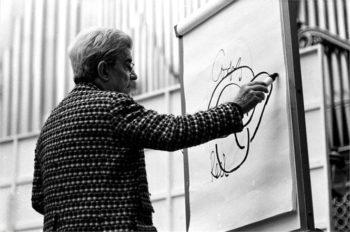 Jacques Lacan teaching