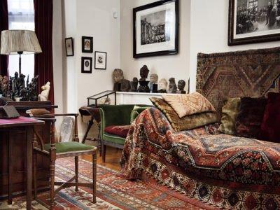 Sigmund Freud's Study - Psychoanalytic Couch
