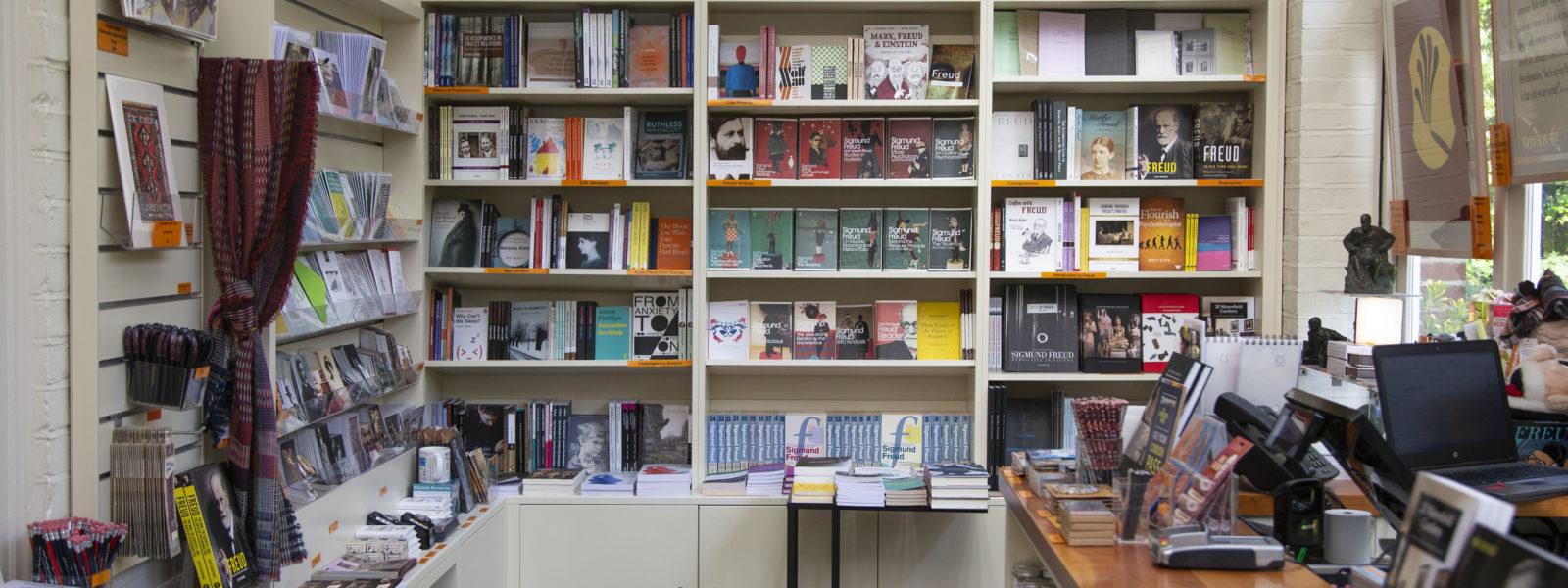 London Bookshop Crawl 2020 Freud Museum Bookshop