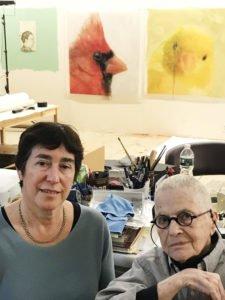 Carol Seigel and Ida Applebroog NY Studio - Freud Museum London