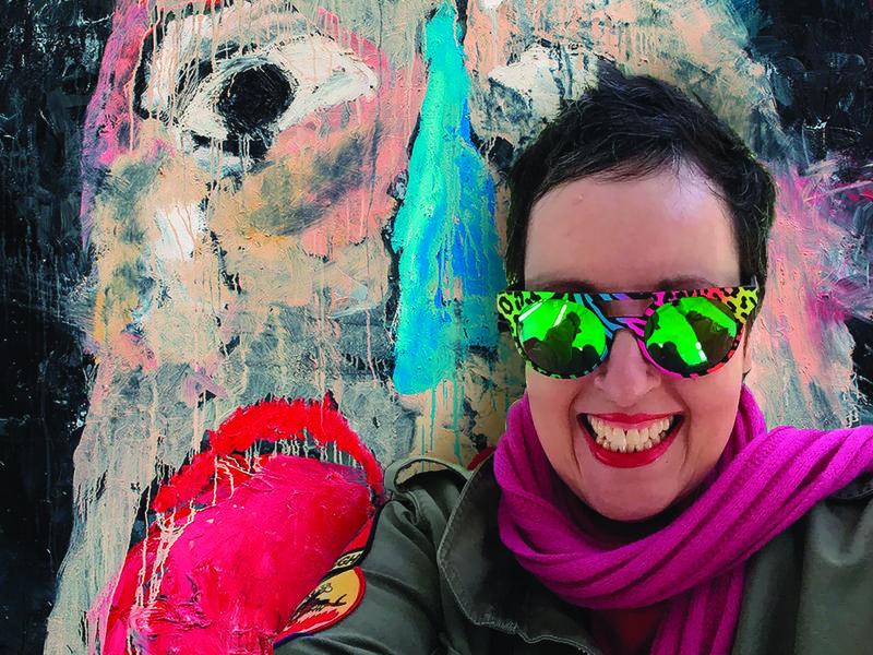 Smashed Up Paint Frances Aviva Blane
