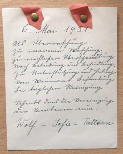 A birthday poem from Freud's dogs
