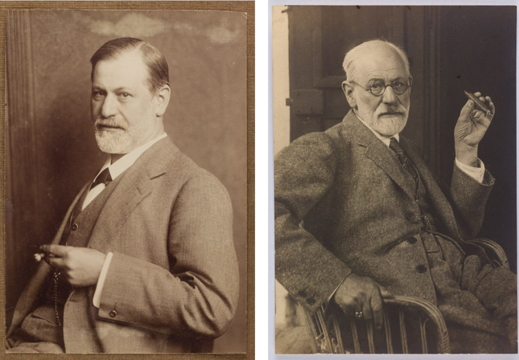 Freud smoking cigars