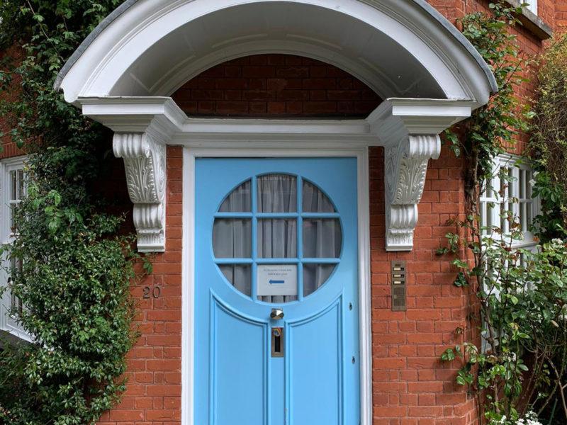 Freud Museum Front Door