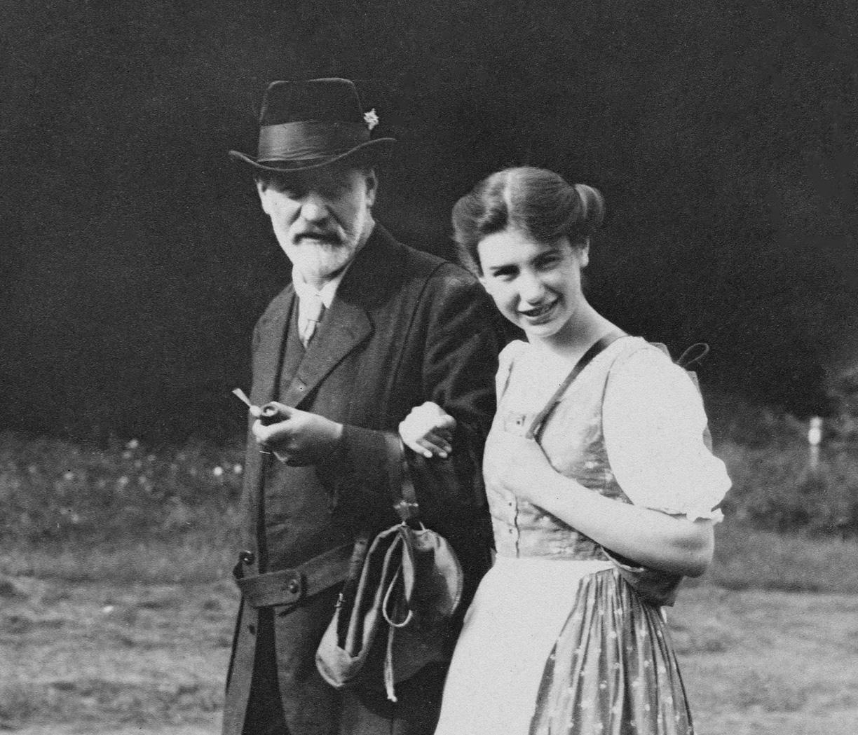 Sigmund and Anna Freud Donate