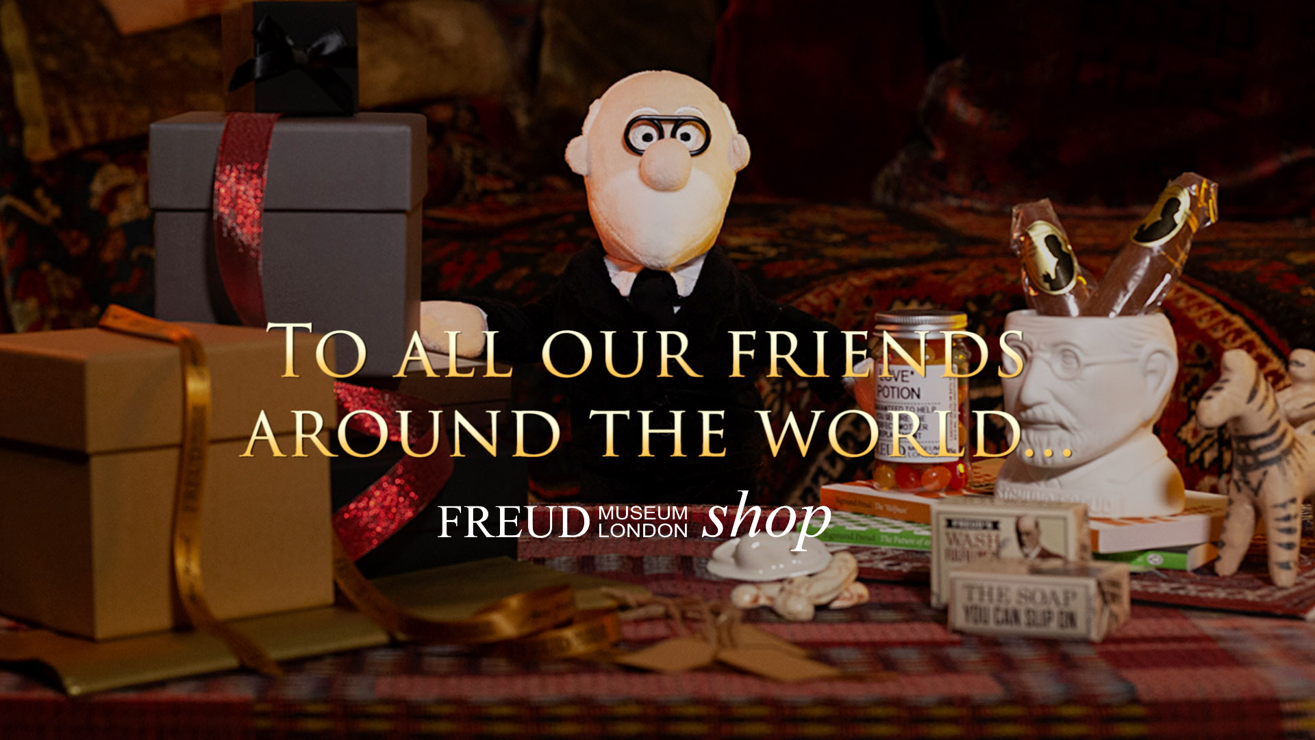 Freud Museum Shop Open for Christmas