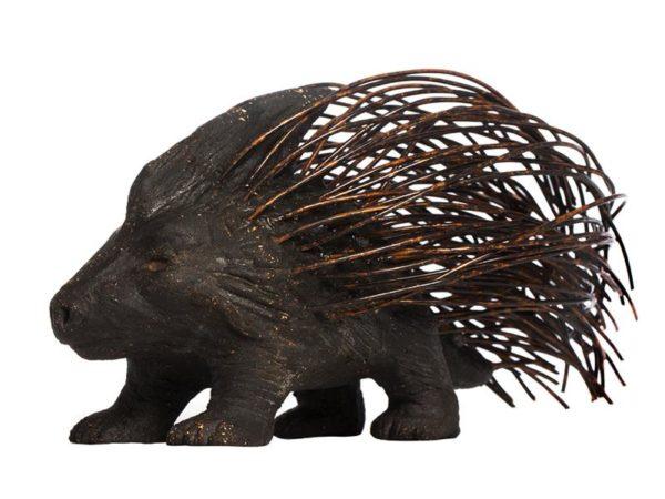 Ceramic replica of Freud's Porcupine