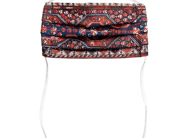 Face Mask with Freud's Rug Pattern