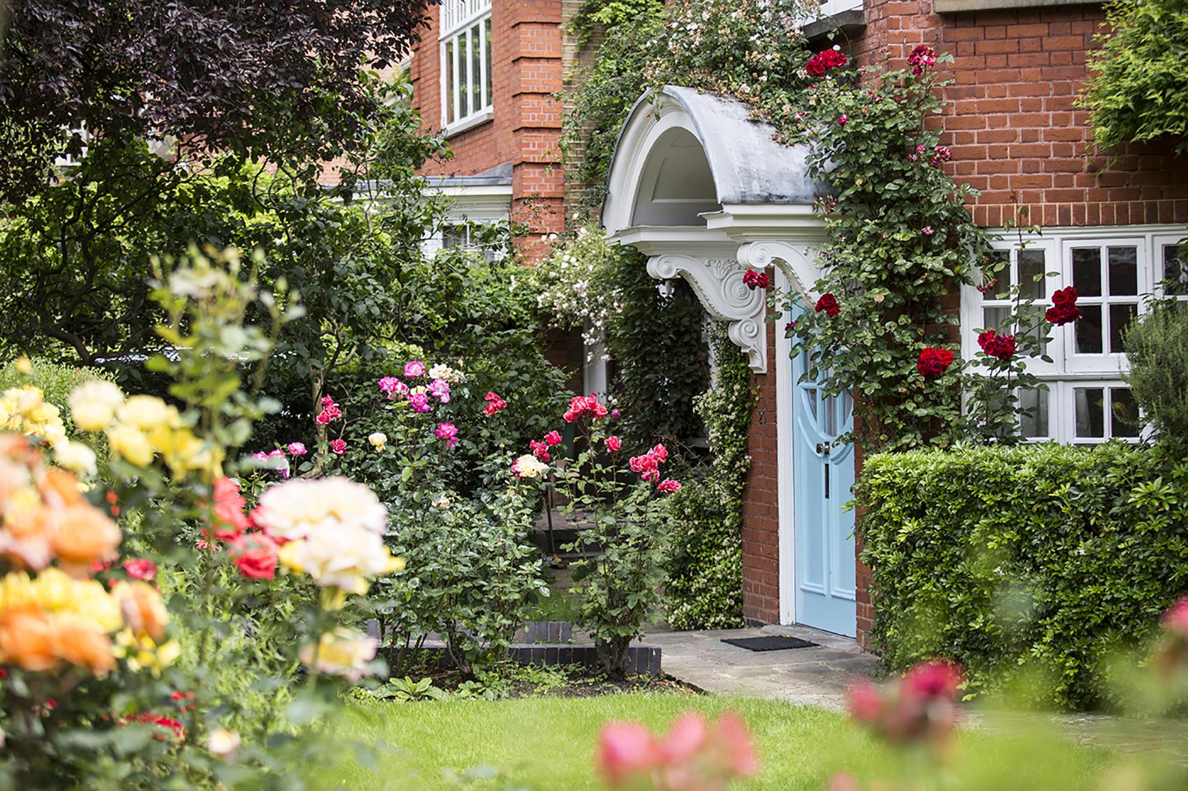 Freud Museum Front Door and Garden