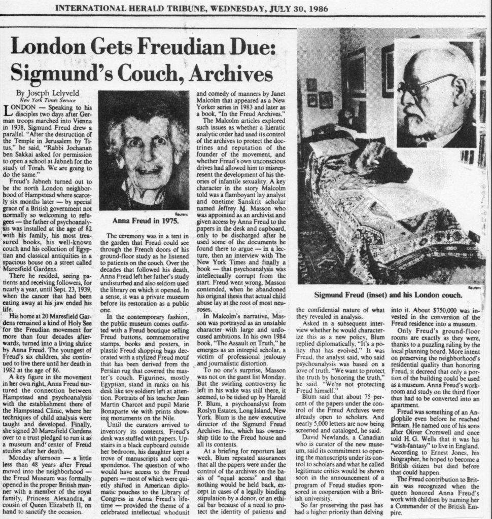 International Herald Tribune - 30th July