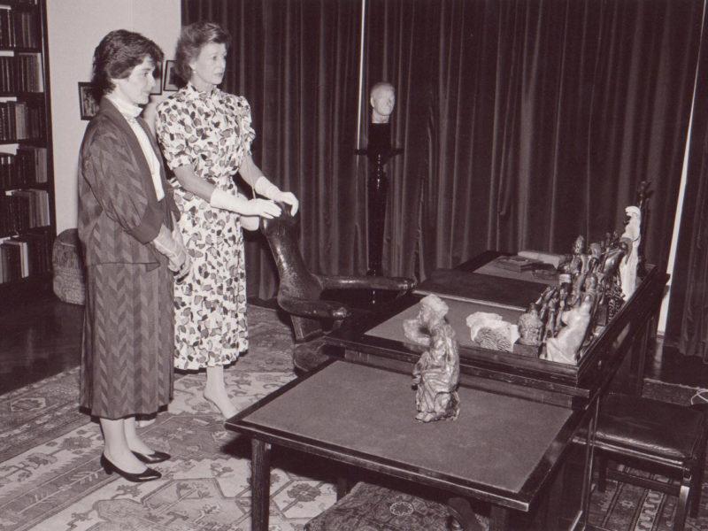 Princess Alexandra & Karen Booth